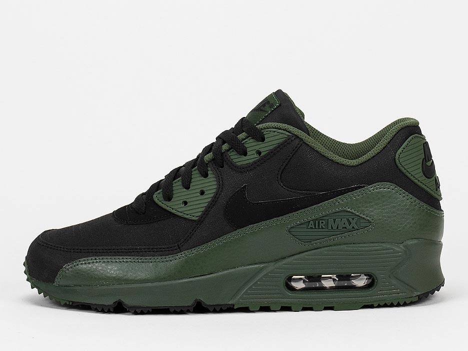 NIKE Schuh Air Max 90 Winter PRM carbon green/black