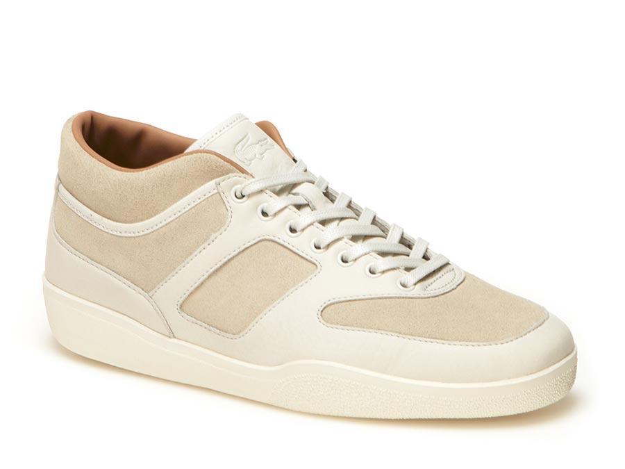 Lacoste Sneaker Half Court aus hochwertigem Leder und Veloursleder