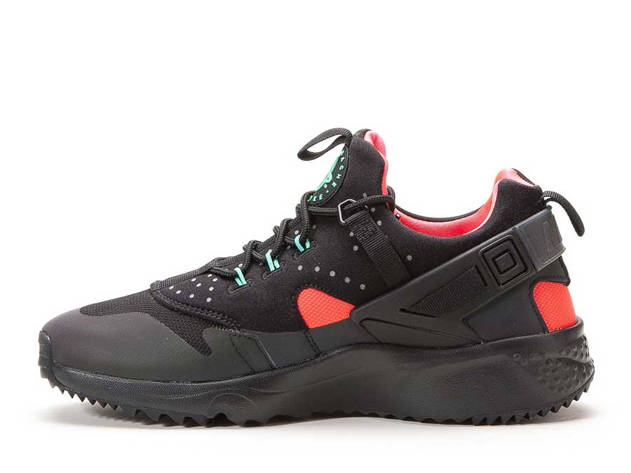 Nike Air Huarache Utility PRM (Black / Bright Crimson)