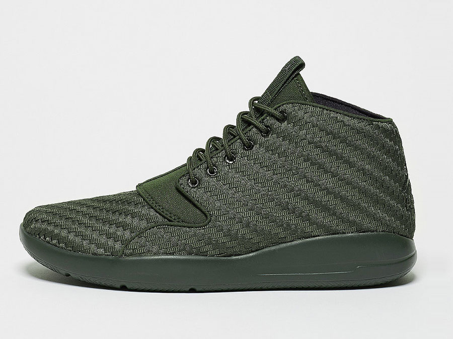 JORDAN Basketballschuh Eclipse Chukka sequoia/black