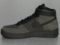 Nike Sneaker Air Force 1 Flyknit olive