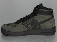 Nike Sneaker Air Force 1 Flyknit olive
