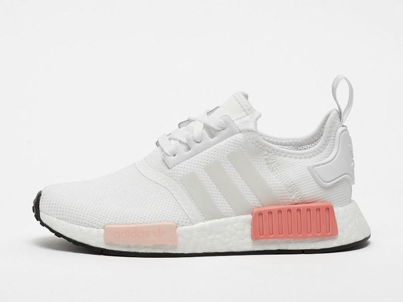 Sneaker adidas NMD R1 white