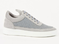 Filling Pieces Low Top Fundament Mesh Grey
