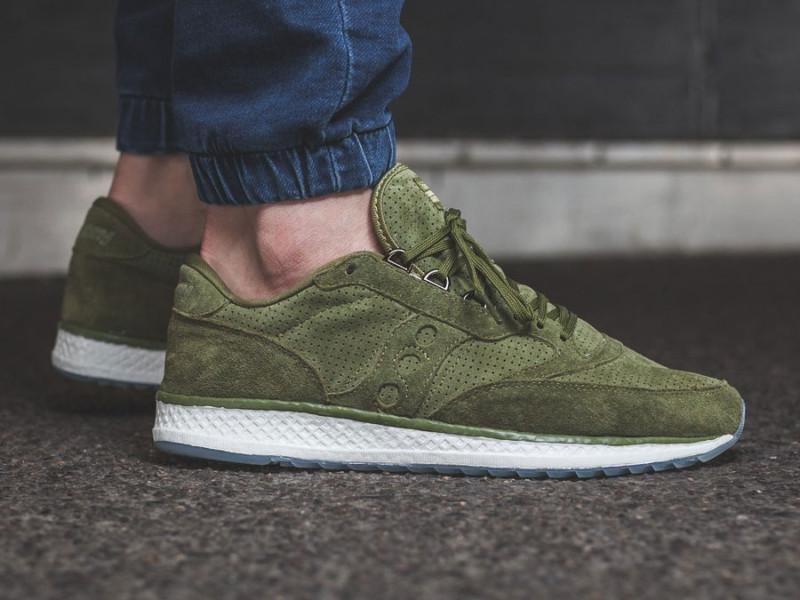 Sneaker Saucony Freedom Runner Green