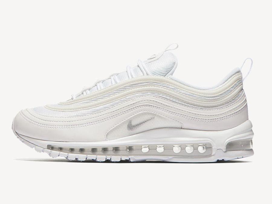 nike air max 97 sneaker low Weiß fast grey